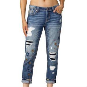 Miss Me Distressed Boyfriend Jeans